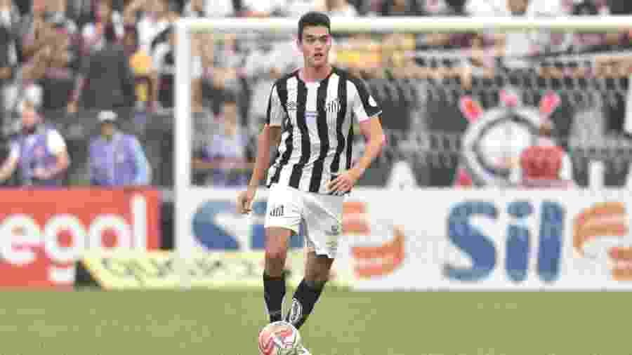 Felipe Aguilar, zagueiro do Santos - Ivan Storti/Santos FC