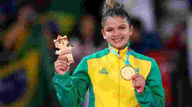 Larissa Pimenta, campeão pan-americana em Lima, também é cliente do hipnoterapeuta Maurici Mariano  - Abelardo Mendes Jr/ rededoesporte.gov.br