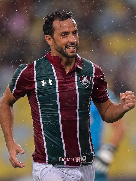 Nenê faz o segundo do Fluminense contra o Botafogo-PB - Thiago Ribeiro/AGIF
