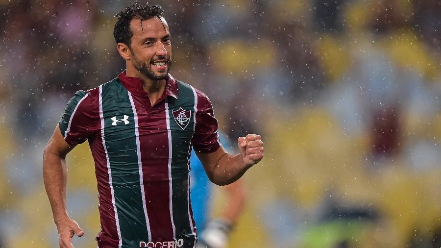 Nenê fez o segundo do Fluminense contra o Botafogo-PB, seu oitavo gol em 2020 - Thiago Ribeiro/AGIF
