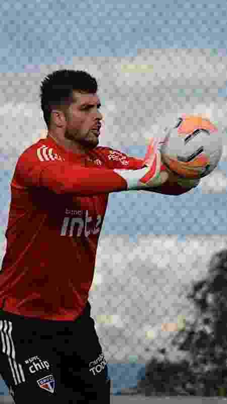 Volpi - Reprodução/@SaoPauloFC - Reprodução/@SaoPauloFC