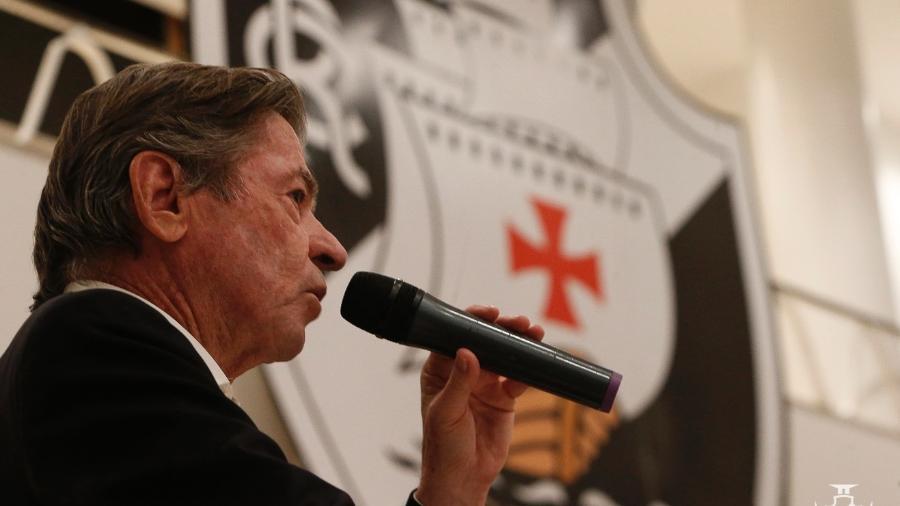 Presidente do Vasco, Jorge Salgado pagou entre quatro a cinco folhas desde que assumiu, em 25 de janeiro - Rafael Ribeiro / Vasco