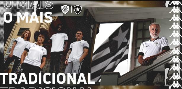 Botafogo e Kappa apresentam novo terceiro uniforme e negociam renovação