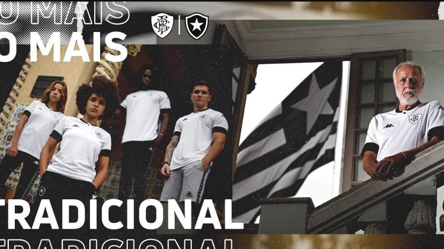 Botafogo lança terceiro uniforme para a temporada 2021 - Reprodução site oficial Botafogo