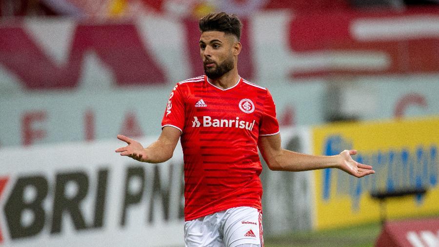 Yuri Alberto ganha vaga de Thiago Galhardo e inicia o Brasileirão como titular do Inter - RAUL PEREIRA/FOTOARENA/FOTOARENA/ESTADÃO CONTEÚDO
