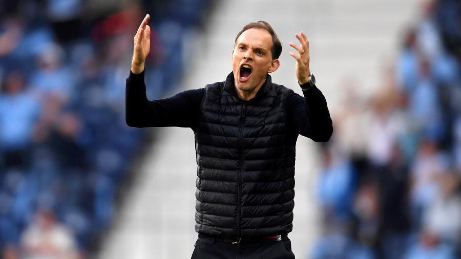 Thomas Tuchel é o 3º técnico alemão consecutivo a vencer a Champions - Alex Caparros - UEFA/UEFA via Getty Images