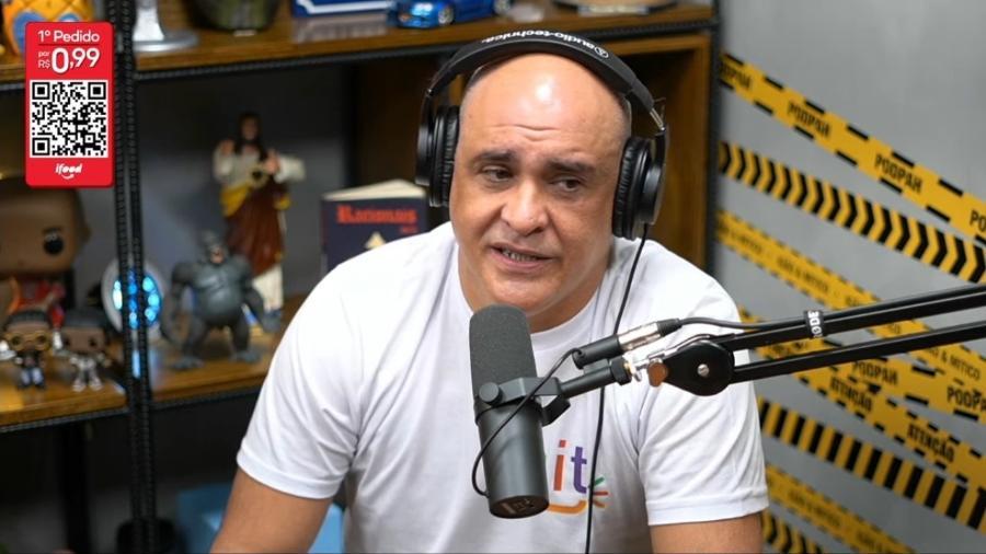O ex-goleiro Marcos foi convidado do podcast Podpah - Reprodução/YouTube