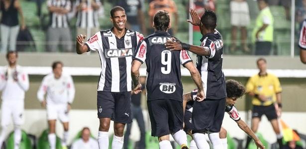 Leonardo Silva e Lucas Pratto foram os autores dos gols do Atlético-MG contra a Caldense