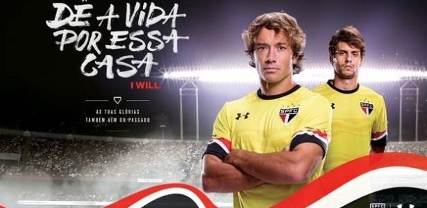 São Paulo e Under Armour anunciaram o terceiro uniforme do clube