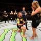 Algoz de brasileiro pede namorada em casamento no octógono do UFC Suécia
