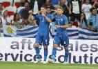 Com gol de brasileiro, Itália bate desfalcado Uruguai em amistoso - Valery Hache/AFP