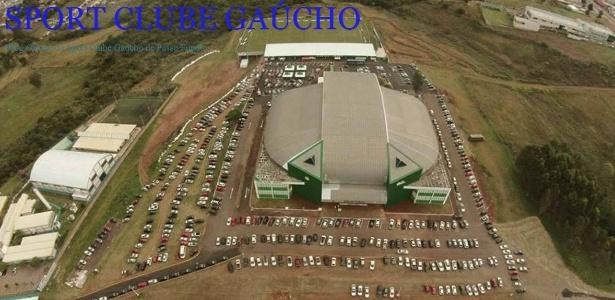 Instalações do Sport Clube Gaúcho, da terceira divisão do Rio Grande do Sul