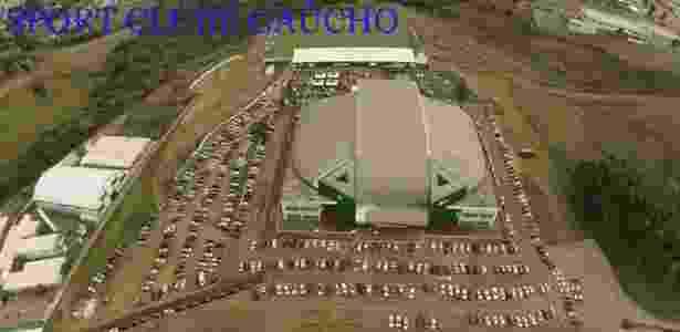 Instalações do Sport Clube Gaúcho, da terceira divisão do Rio Grande do Sul - Reprodução/Site oficial