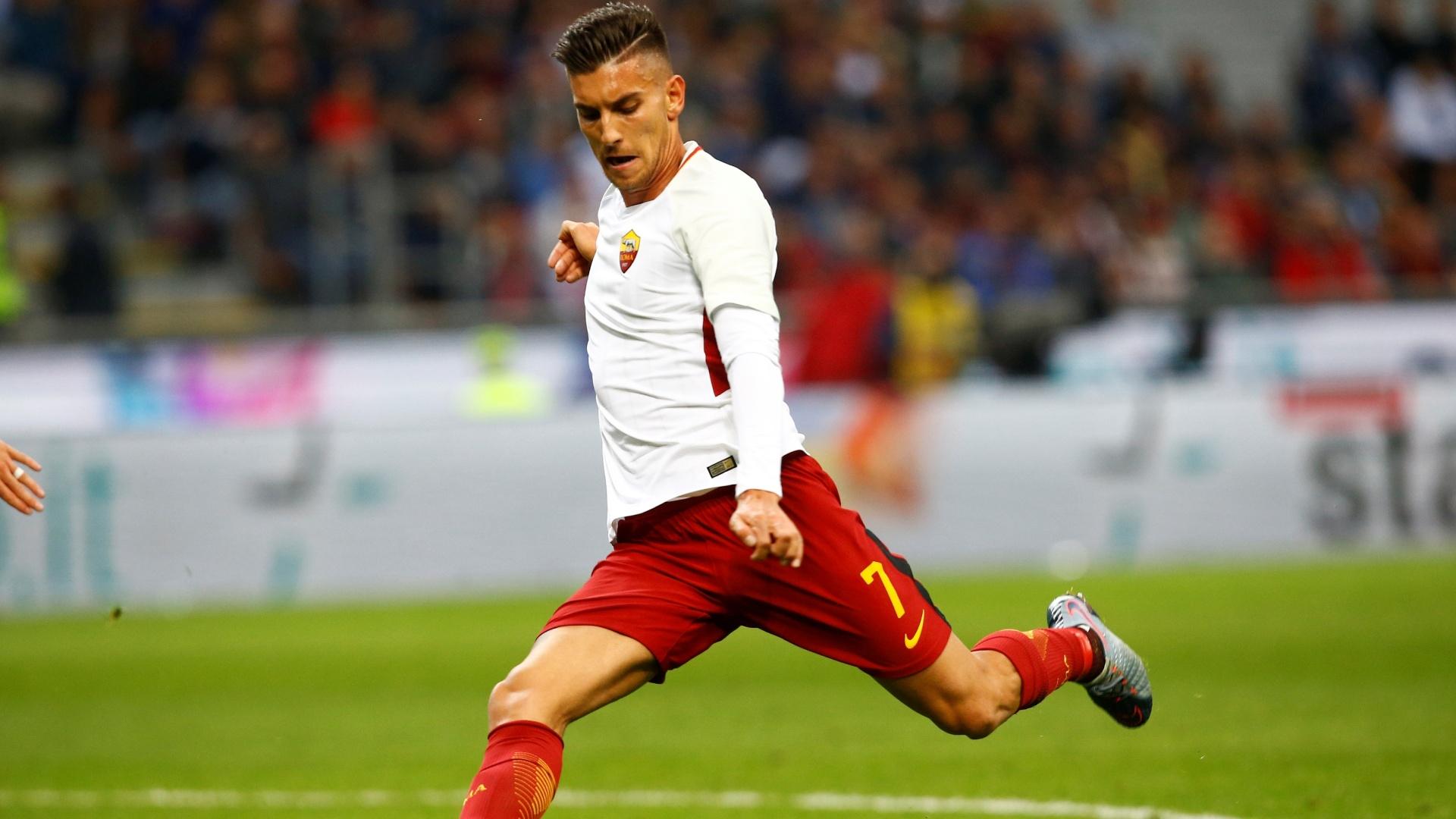 Lorenzo Pellegrini está na mira de United e City