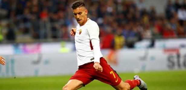 Lorenzo Pellegrini, da Roma, está na mira de Pep Guardiola e Jose Mourinho