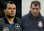 Expoentes e hoje adversários: Carille e Jair se enfrentam em ano mágico - Thiago Ribeiro/AGIF e Daniel Augusto Jr. / Corinthians