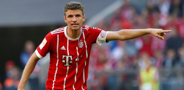 O alemão Thomas Muller, atacante do Bayern de Munique