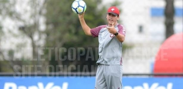 Fernando Diniz comandará o Atlético na segunda partida no ano - Fábio Wosniak/Site oficial CAP