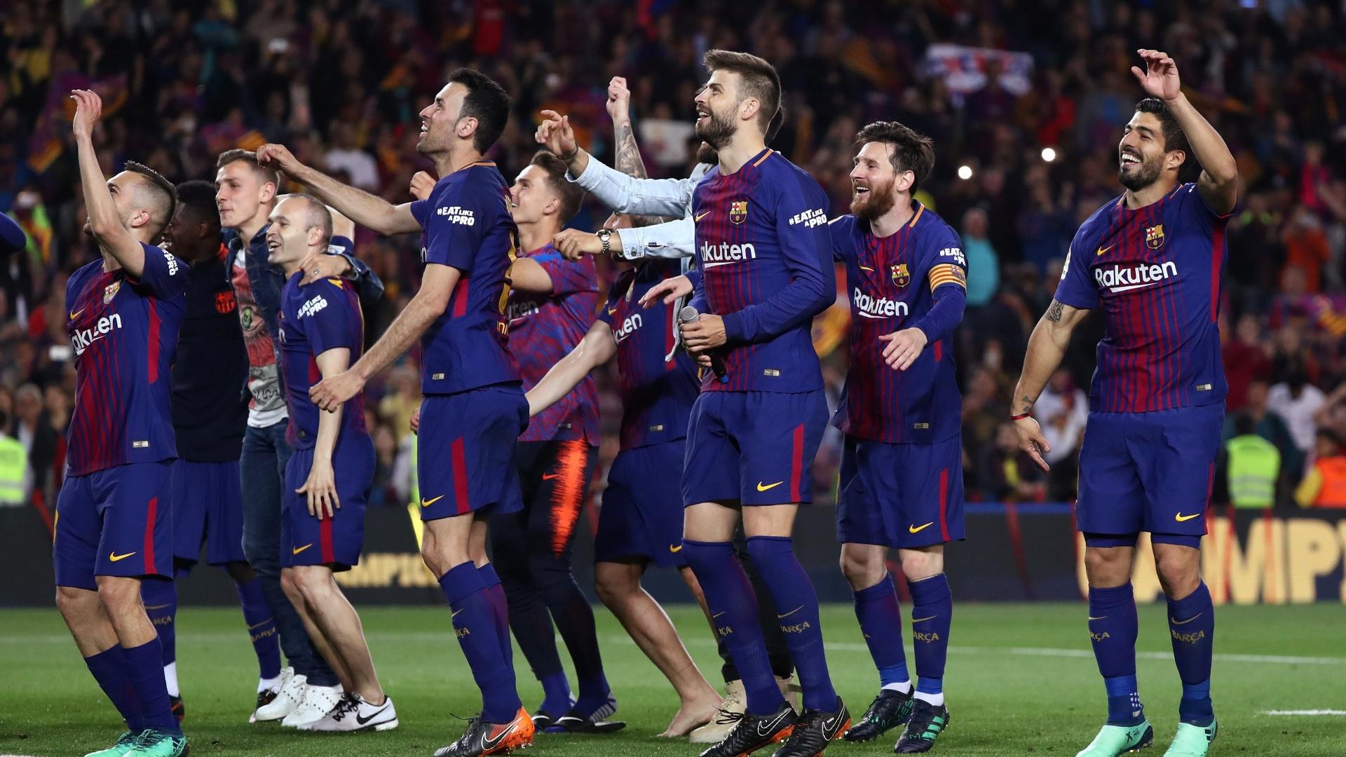 Piqué provocou o Real Madrid após empate no clássico deste domingo