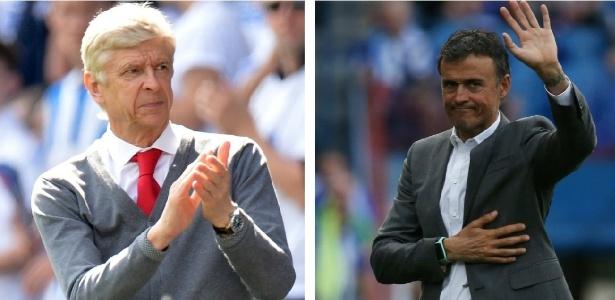 Wenger e Luis Enrique ainda não têm emprego para próxima temporada