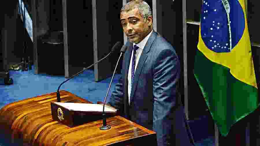 Ex-jogador Romário  - Renato Costa/folhaPress