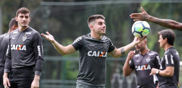 Tomás Andrade não tem sequência com a camiseta do Atlético-MG - Bruno Cantini/Atlético-MG/Divulgação