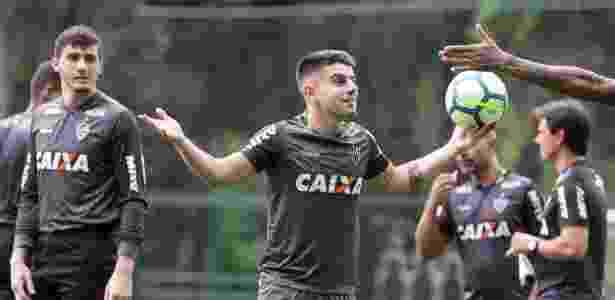Tomás Andrade em treino do Atlético-MG; jogador quer ficar no Brasil em 2019 - Bruno Cantini/Atlético-MG/Divulgação