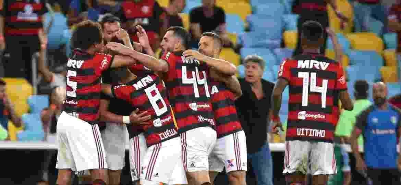 Flamengo cresceu nas rodadas finais, mas não adiantou: título ficou com o Palmeiras - Gilvan de Souza/Flamengo
