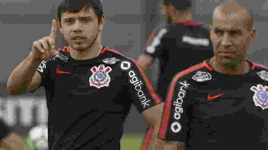 Com sua situação indefinida no Corinthians, Romero é monitorado pelos mineiros, mas prefere o exterior - Daniel Augusto Jr/Ag. Corinthians