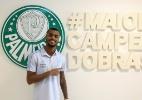 """Ex-colega elogia Felipe Pires, reforço do Palmeiras: """"Pode ser titular"""" - Fabio Menotti/Ag. Palmeiras/Divulgação"""