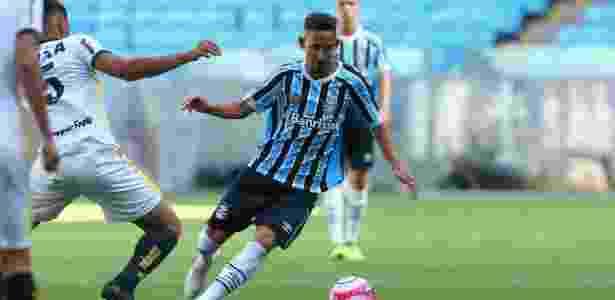 Jhonata Robert balançou as redes na Copinha, deu assistências e chegou às quartas de final com o Grêmio - Rodrigo Fatturi/Grêmio