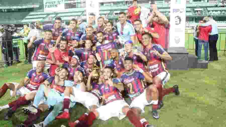 Toledo surpreendeu ao conquistar o 1º turno do Paranaense 2019 - Reprodução/Toledo Esporte Clube