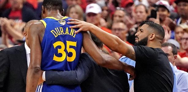 Finais da NBA | Drake se solidariza com Durant e escapa de crítica feita a torcedores