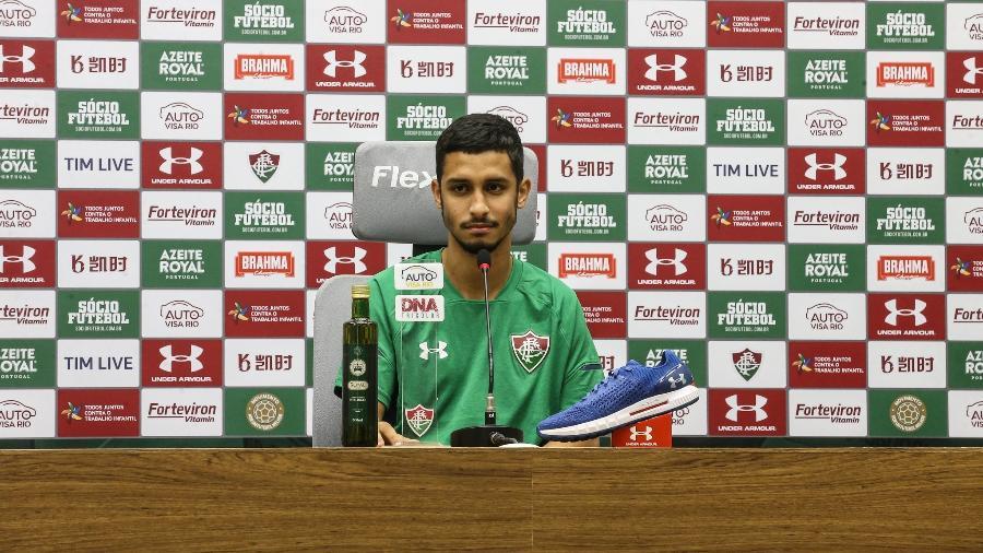 Daniel comemorou a boa fase no Fluminense sob o comando de Marcão - Lucas Merçon/Fluminense FC
