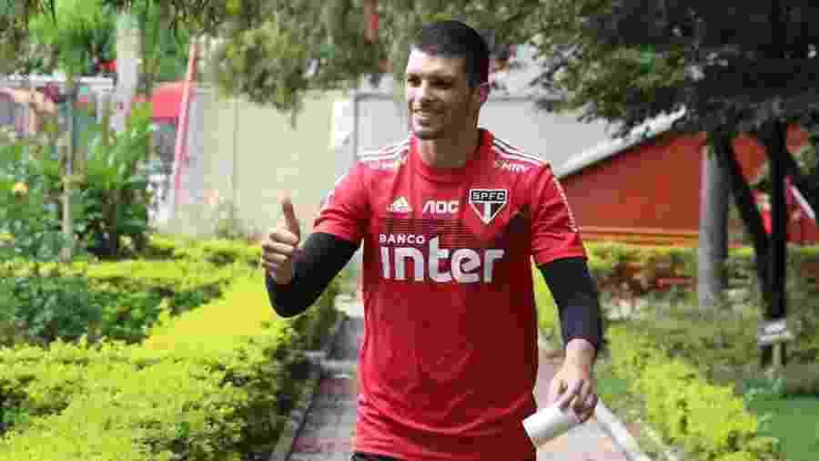 Tiago Volpi, goleiro do São Paulo - Rubens Chiri/saopaulofc.net