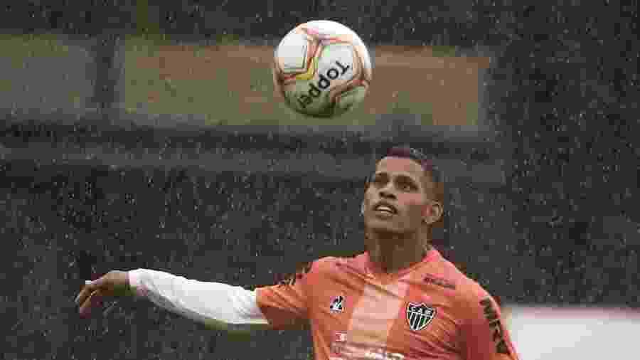 Mailton, lateral direito do Atlético-MG, balançou a rede contra o Tupynambás - Bruno Cantini/Divulgação
