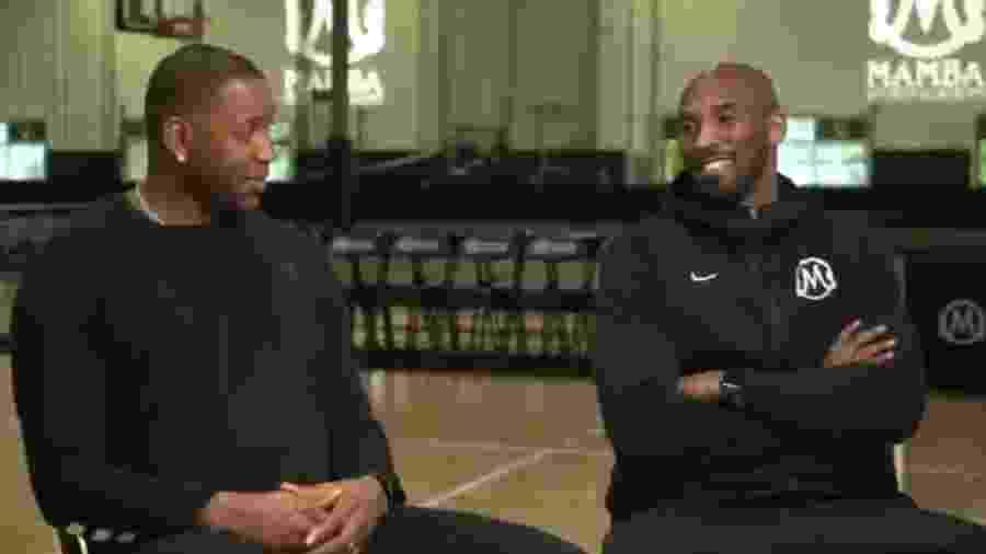 Tracy McGrady e Kobe Bryant eram amigos próximos na NBA  - Reprodução