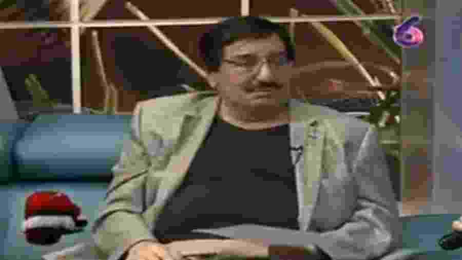"""José Francisco """"Pepe"""" Ruiz, locutor esportivo da Nicarágua riu e ironizou o coronavírus durante programa em uma TV local - Reprodução/Facebook"""