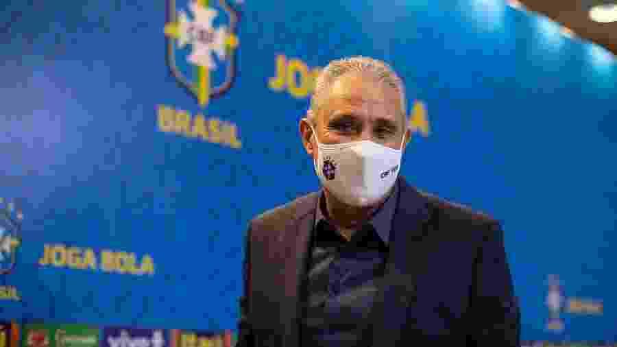 Tite explica convocação de Coutinho e jovens para primeiras rodadas das Eliminatórias - Lucas Figueiredo/CBF