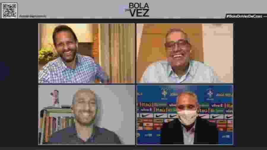 """Técnico Tite participa do programa """"Bola da Vez"""", na ESPN - ESPN/Reprodução"""