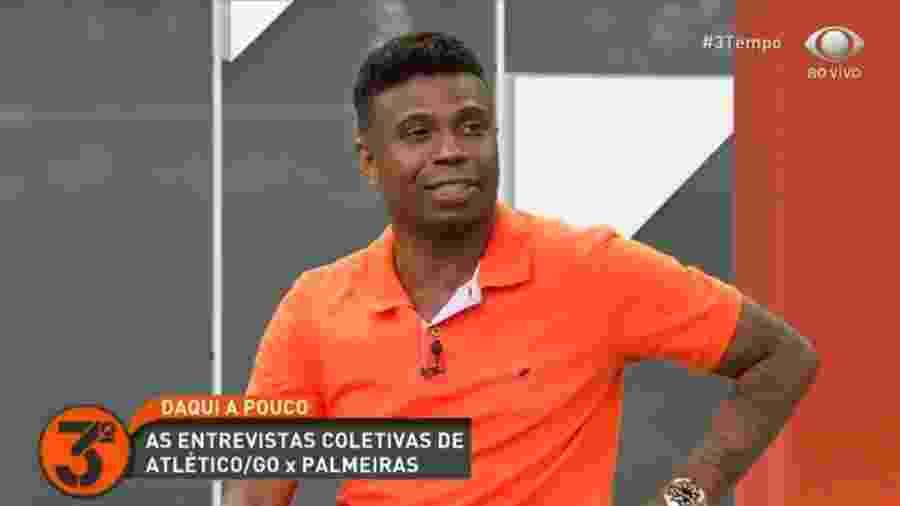 Edílson Capetinha diz que é melhor que Messi e explica discussão com Velloso - Reprodução/Band