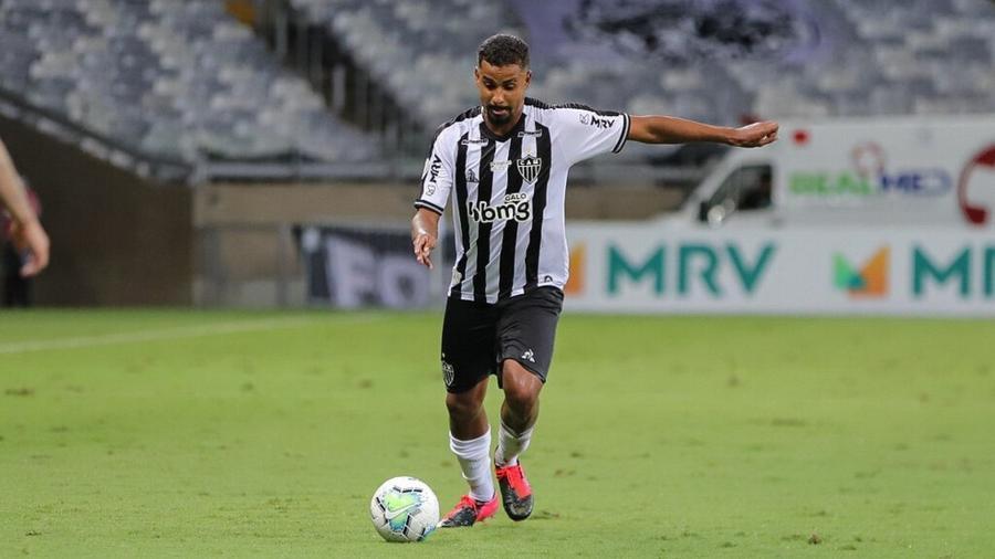 Talison, lateral direito do Atlético-MG, é um dos destaques da base do Galo - Pedro Souza/Divulgação/Atlético-MG