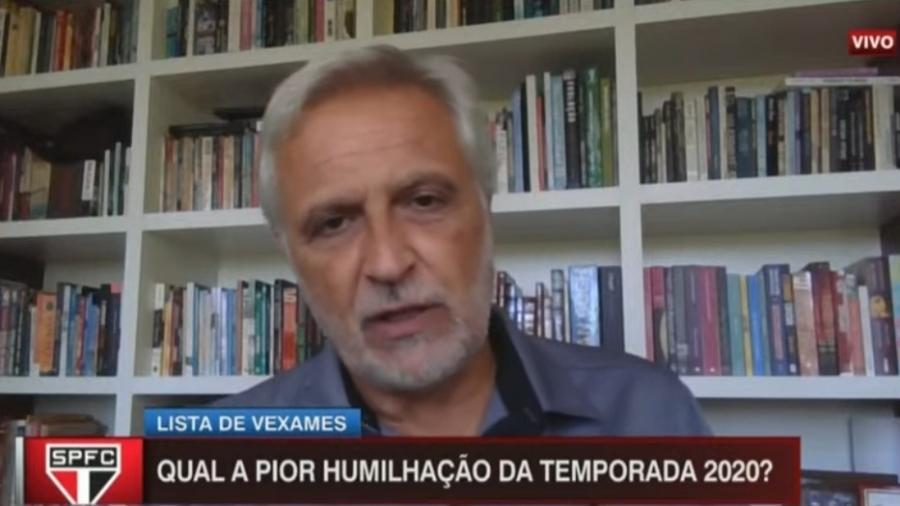Sormani critica temporada do São Paulo  - Reprodução/ESPN