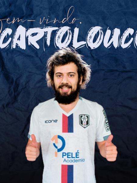 Cartolouco, anunciado pelo Resende - Divulgação/Facebook oficial do Resende