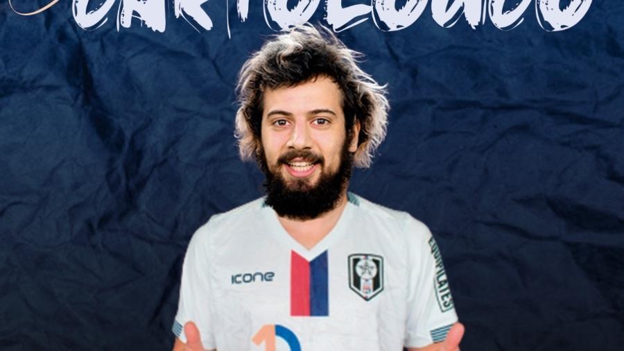 Cartolouco, atacante do Resende - Divulgação/Facebook oficial do Resende