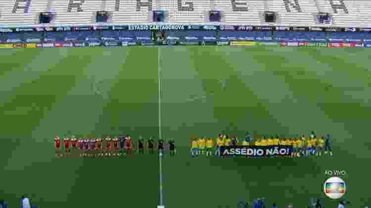 Seleção brasileira feminina no amistoso contra a Rússia - Transmissão - Transmissão