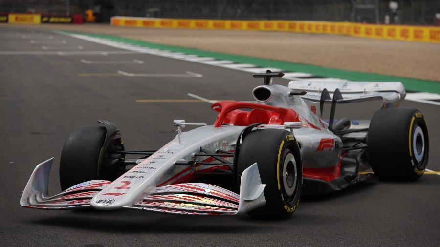 Novo carro da Fórmula 1 para 2022 - REUTERS/Andrew Couldridge