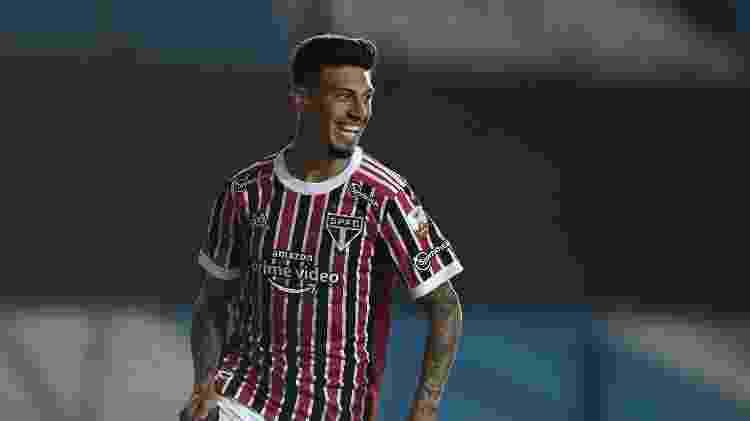 Rigoni comemora gol do São Paulo contra o Racing - Marcelo Endelli/Getty Images - Marcelo Endelli/Getty Images