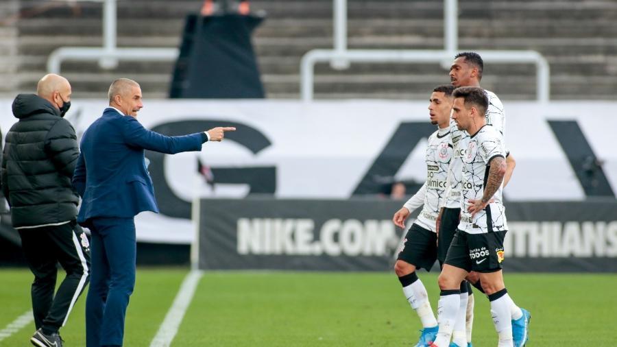 Corinthians de Sylvinho é o terceiro pior mandante do Brasileirão 2021  - Rodrigo Coca/ Ag. Corinthians