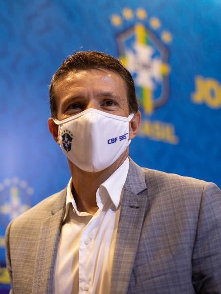 Juninho Paulista, coordenador da seleção brasileira - Lucas Figueiredo/CBF